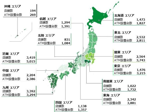 ゆうちょ銀行ネットワーク