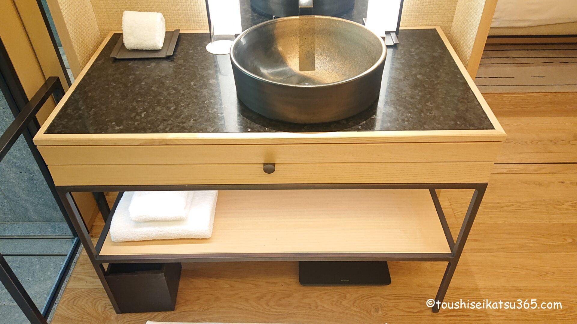 ザ・リッツ・カールトン日光|洗面台