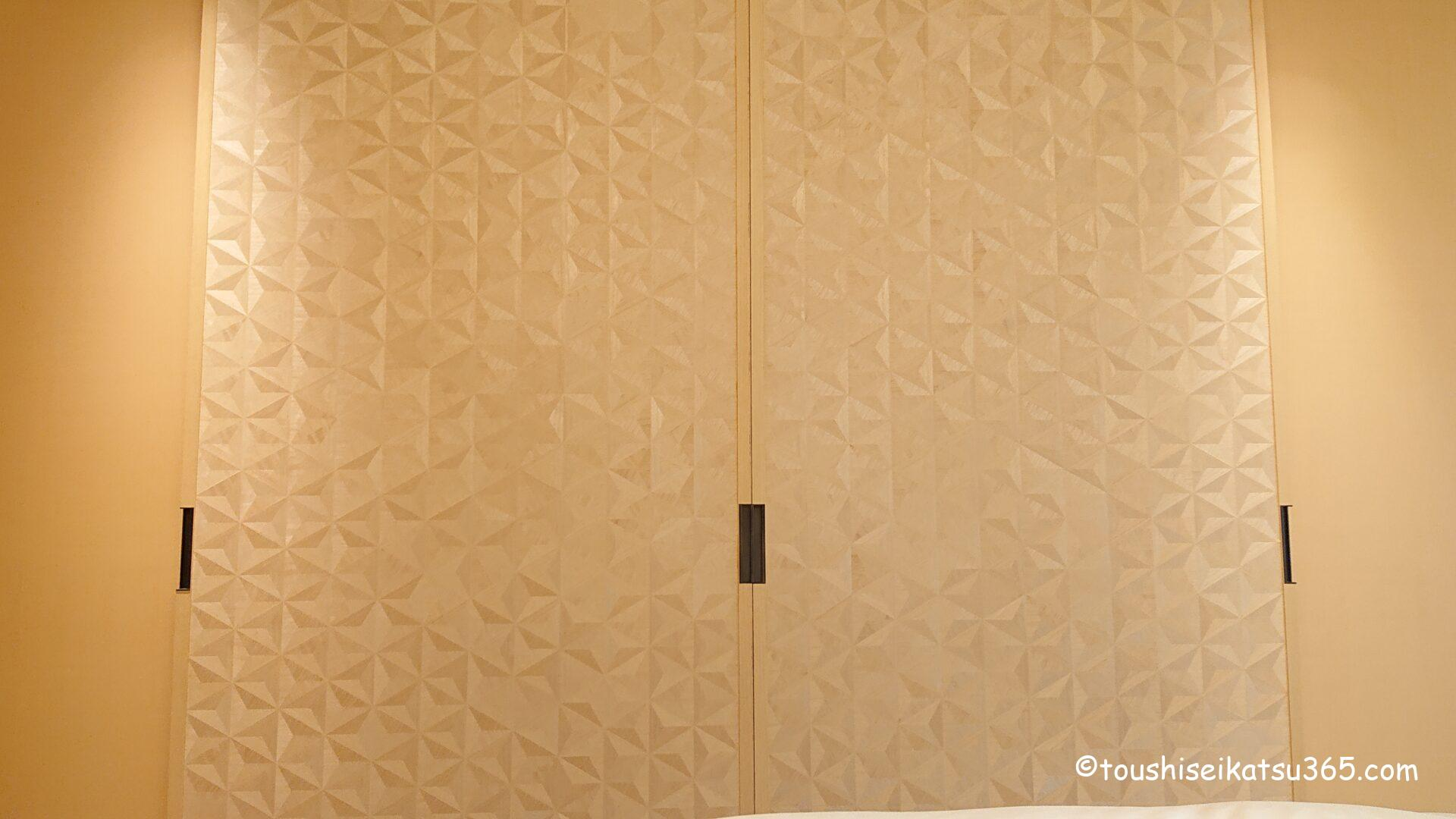 ザ・リッツ・カールトン日光|バスルームへの入り口