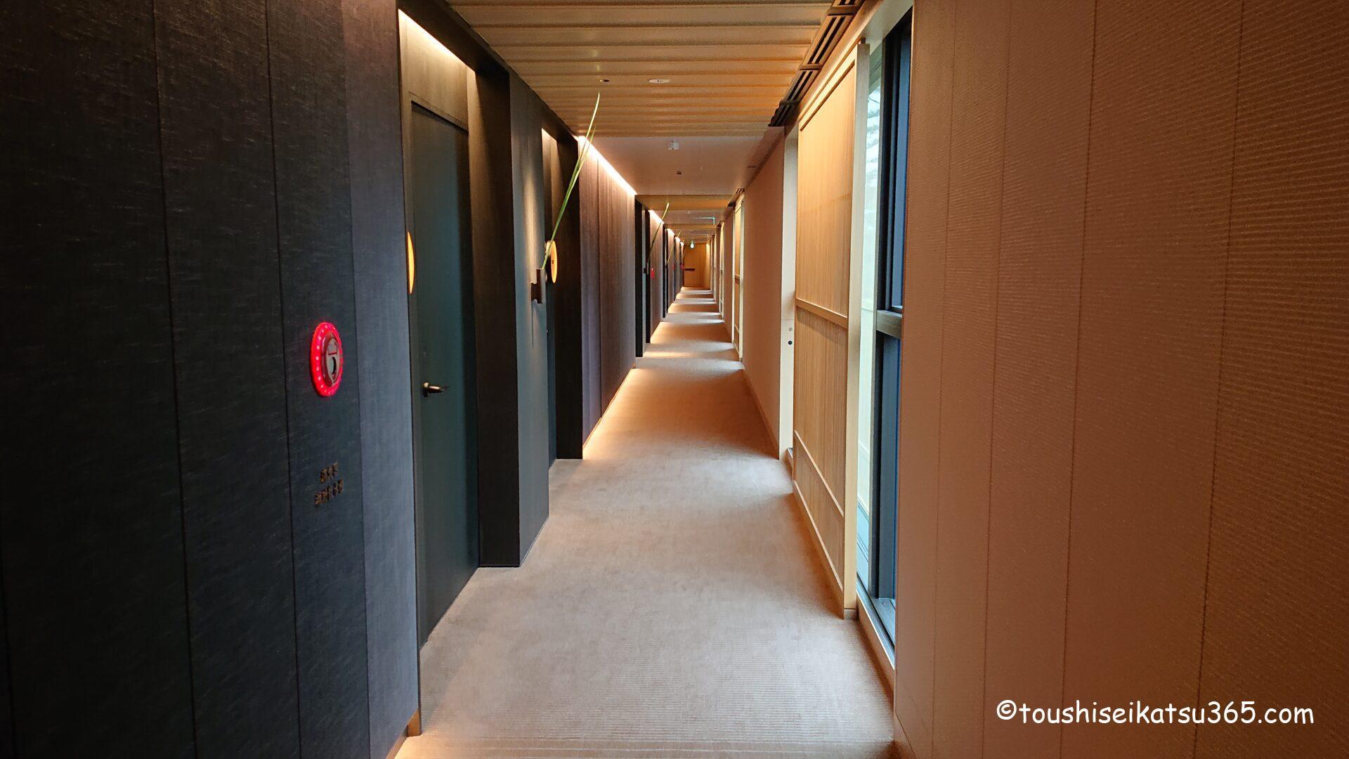 ザ・リッツ・カールトン日光|客室への通路