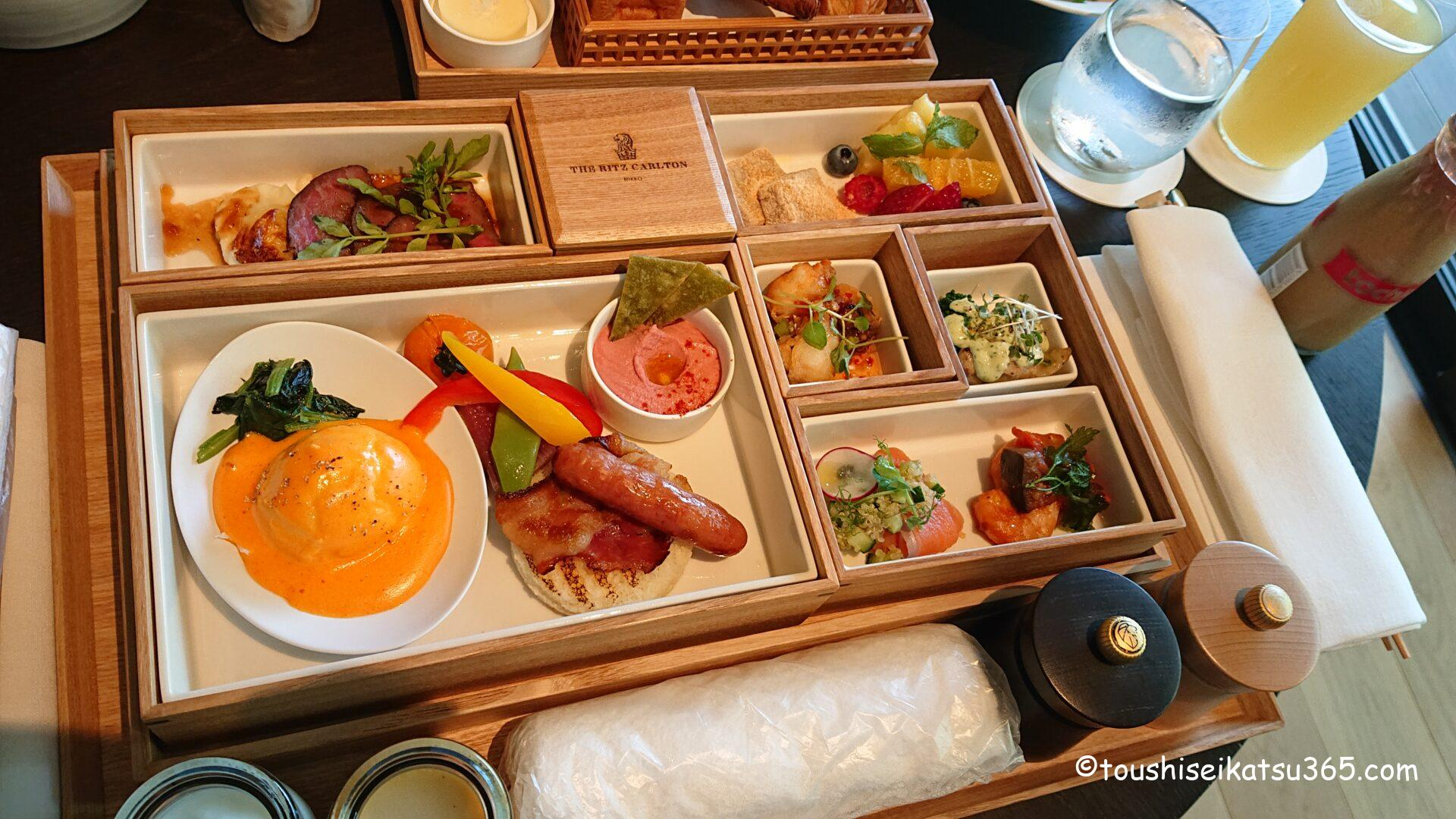 ザ・リッツ・カールトン ブレックファスト|洋朝食