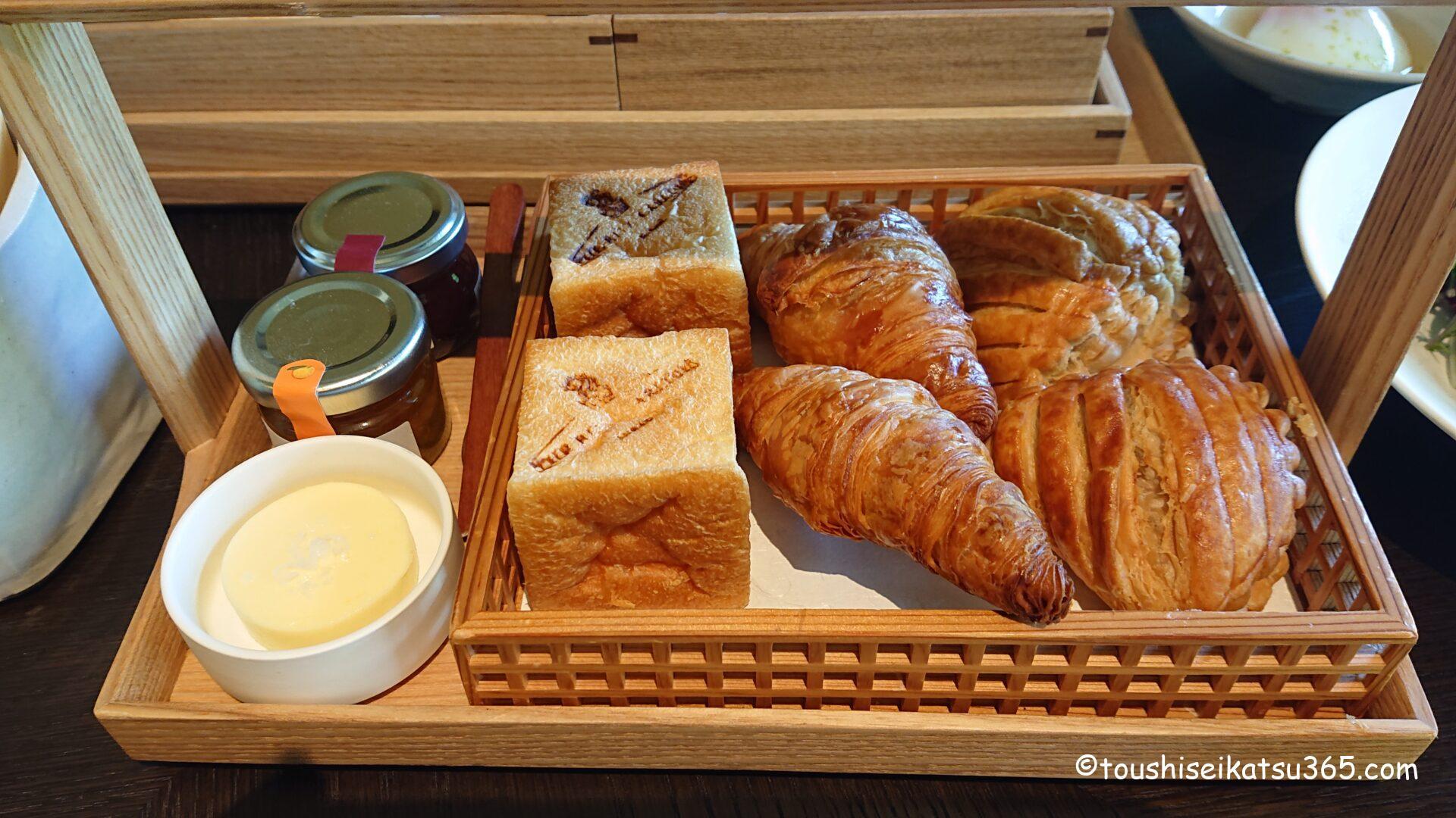ザ・リッツ・カールトン ブレックファスト|3種のパン