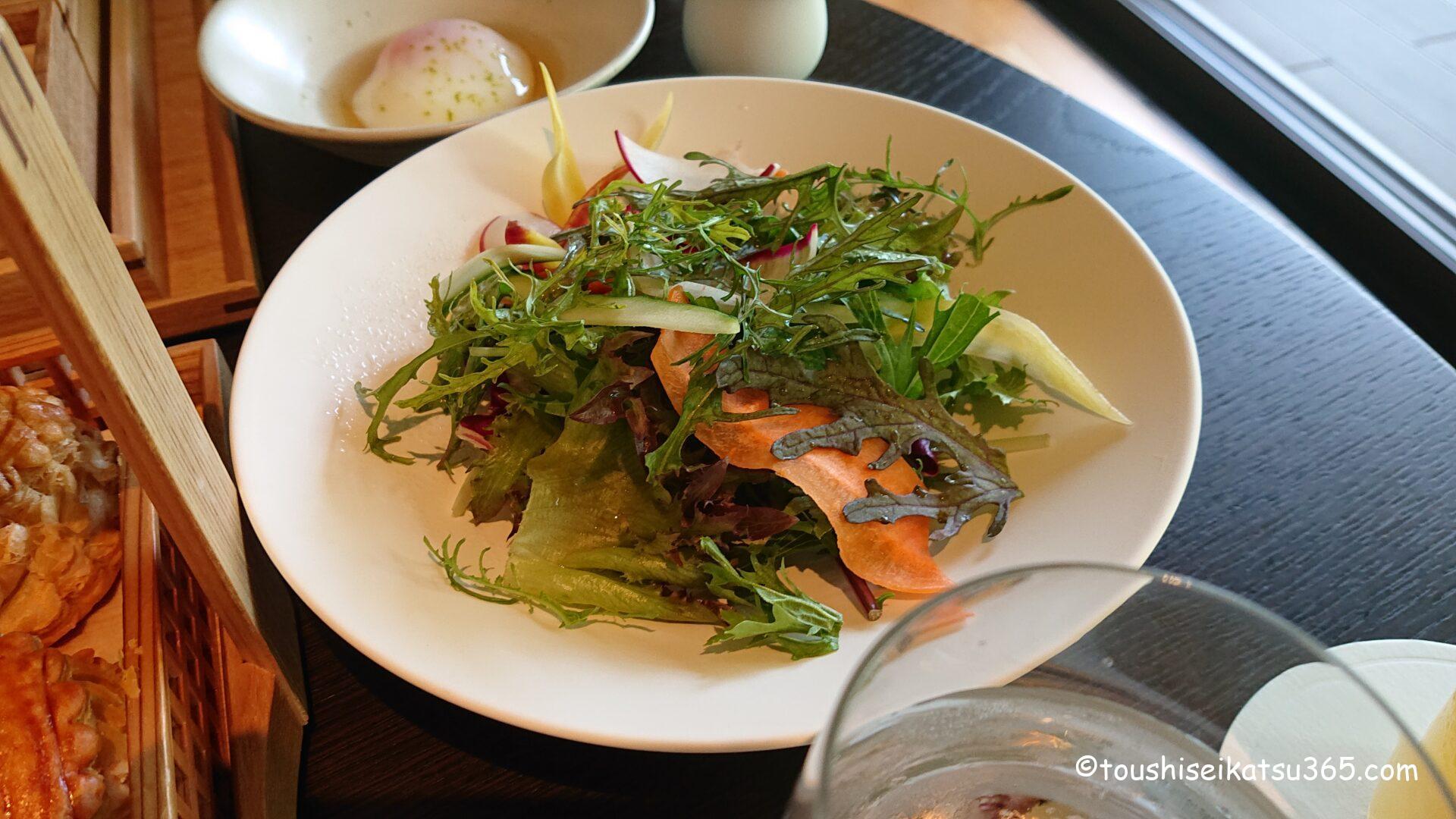 ザ・リッツ・カールトン ブレックファスト|海老原ファームのグリーンサラダ