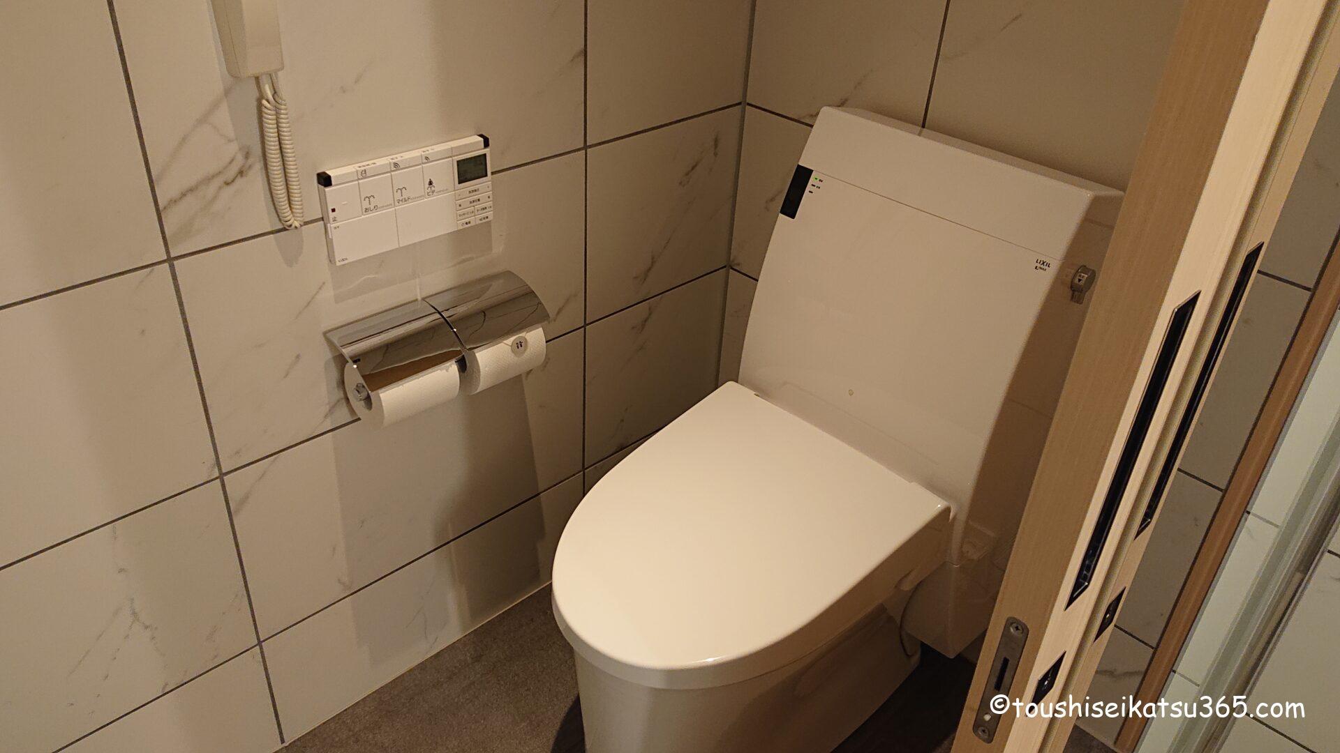 エクシブ湯河原離宮 トイレ