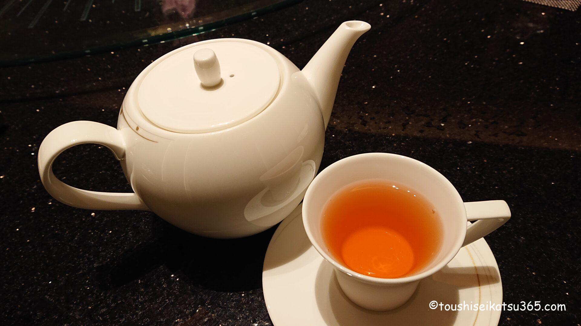 中国料理「翆陽」 ジャスミンティー